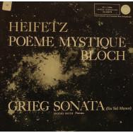 Jascha Heifetz, Brooks Smith - Bloch - Poeme Mystique / Grieg - Sonata No.2, Opus 13