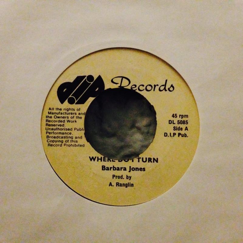 Barbara Jones / G. G. All StarsWhere do I turn / Version